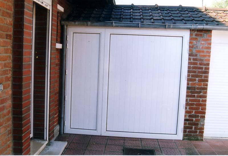 Nos r alisations de portes de garage - Porte de garage pvc ...